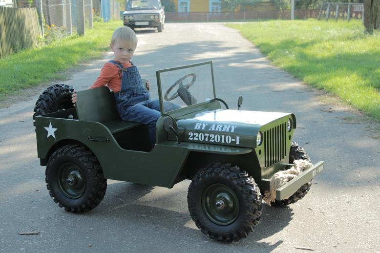 Автомобиль для ребёнка своими руками