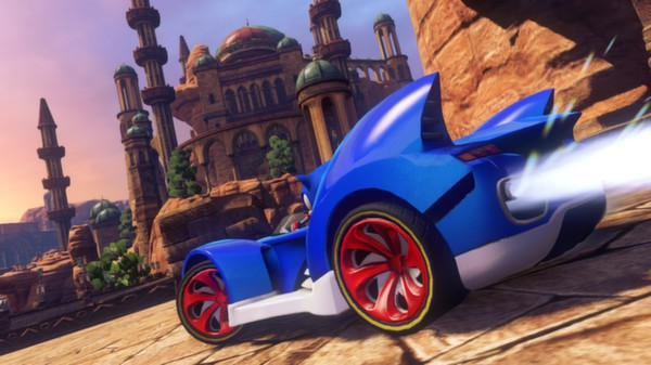 Sonic & All-Stars Racing Transformed (Steam, Reg. Free)