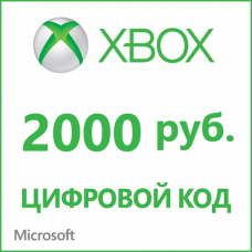 Xbox Live Windows Store - 2000 rubles