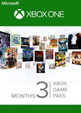 Xbox Game Pass 3  months Xbox One, Windows 10 CODE