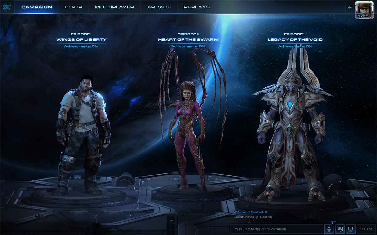 Battle.net Трилогия StarCraft 2 WoL+HotS+LotV(EU|RU|US)