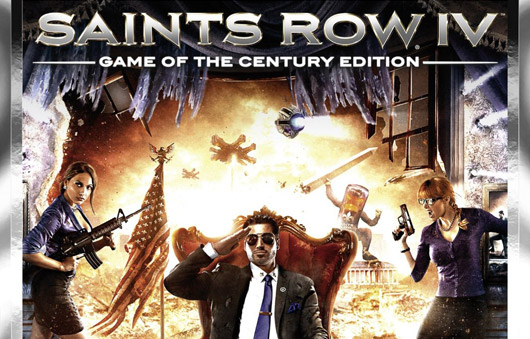 Saints Row IV:Game of the Century ED(STEAM GIFT\RU/CIS)