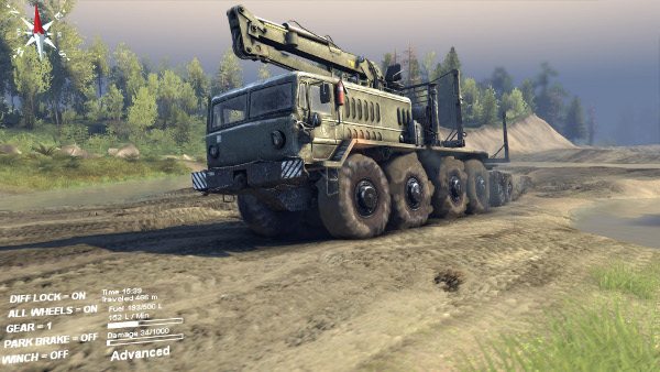 Spintires (Steam, REGION FREE) + Скидки