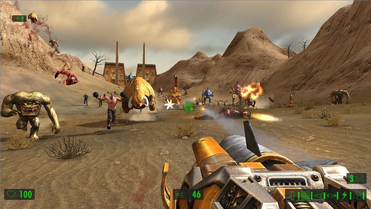 Serious Sam HD: The First Encounter (STEAM / RU/CIS)