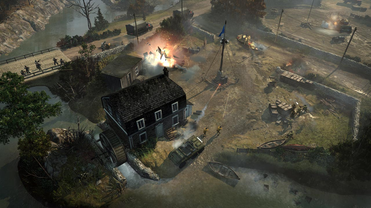 CoH 2 The Western Front Armies: Oberkommando West STEAM
