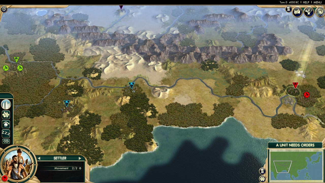 Civilization V: Scrambled Continents Map Pack (DLC)