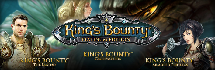 King´s Bounty: Platinum Edition (3 in 1) STEAM KEY /ROW