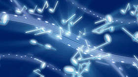 Musical Notes Screensaver code activation