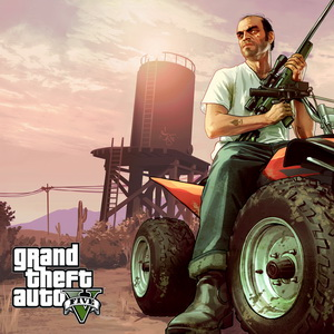 Grand Theft Auto V + GTA V Online + warranty