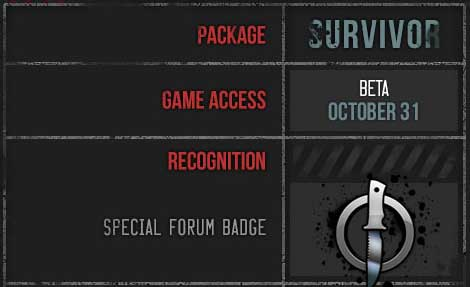 THE WARZ SURVIOR PACKAGE