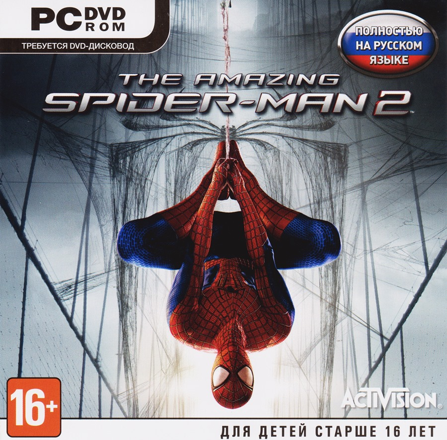 THE AMAZING SPIDER-MAN 2 REGION FREE RUS LANGUAGE ONLY