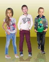 Выкройка детских брюк джинсового типа на 6-7-8-9 лет