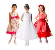 Готовая выкройка детского платья в четырех размерах