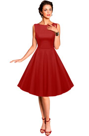 Готовая выкройка платья в стиле 50