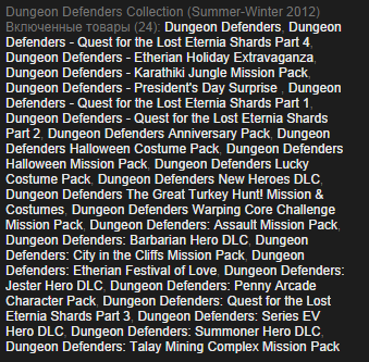 Dungeon Defenders Collection (Steam Gift/RU CIS) + Бону