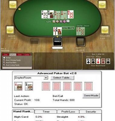 Poker bot law