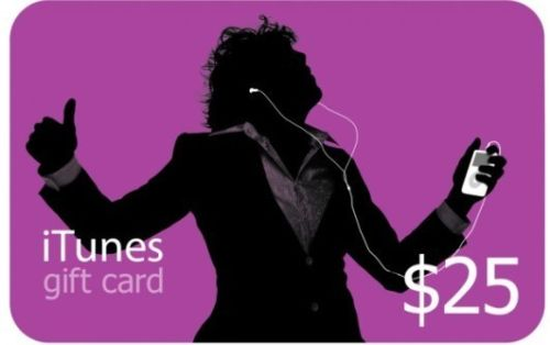 iTUNES GIFT CARD - $25 (USA) - СКИДКИ