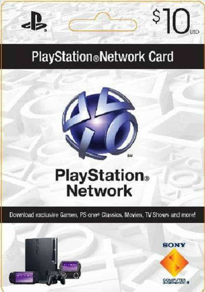 PLAYSTATION NETWORK (PSN) - $10 (USA) - СКАН - CКИДКИ