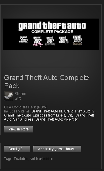 GTA Complete Pack (ROW GIFT) | STEAM Worldwide