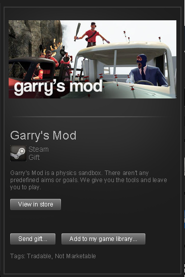 Garry´s Mod █ RoW / Region Free STEAM GIFT
