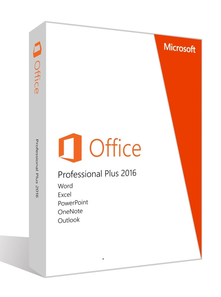 Office 2016 pro plus Retail fpp Unlimited license