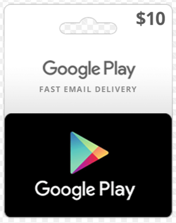 Google Play (Card Payment | Gift Card) 10 USD - USA