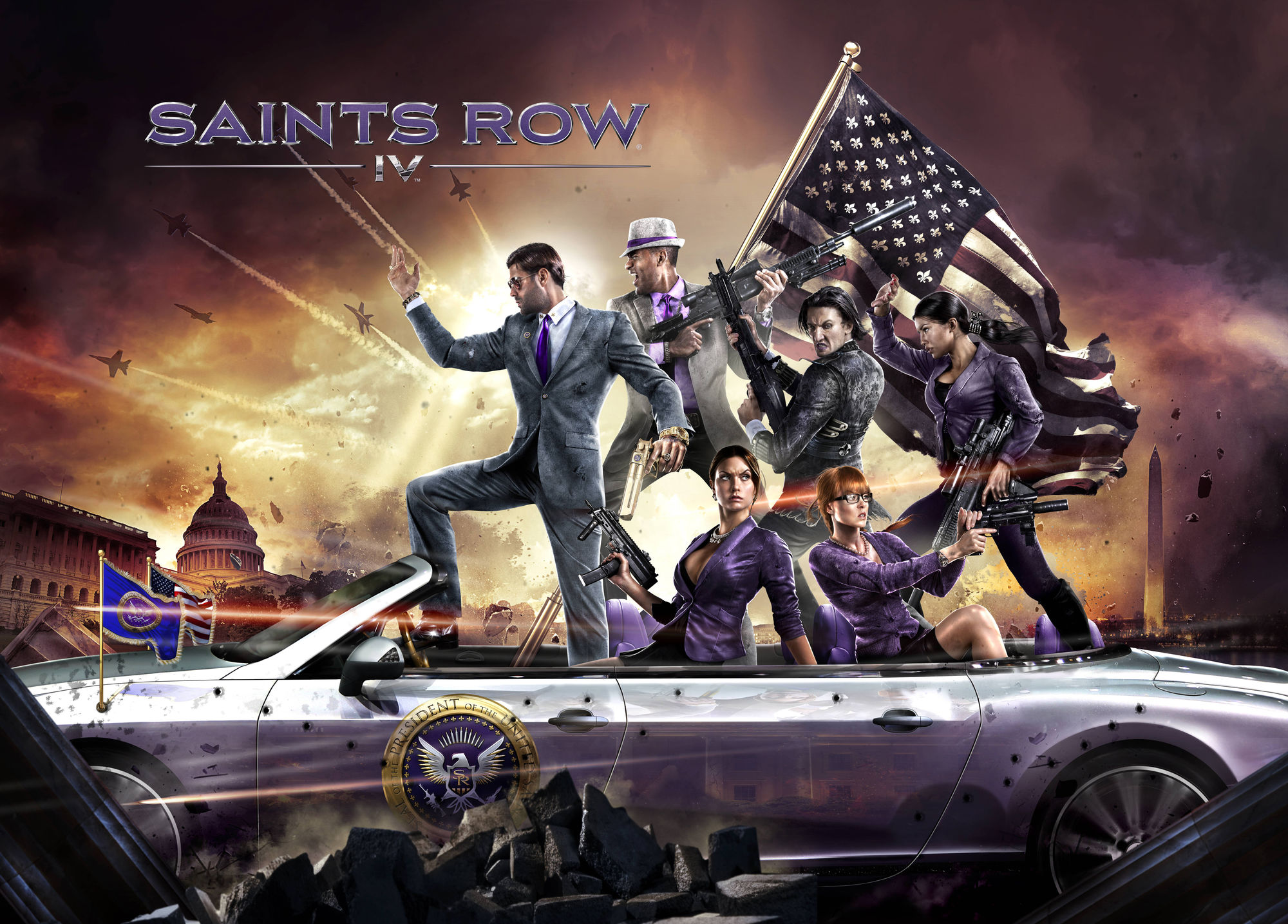 Saints Row IV (Steam Gift/ Region free/ Tradable)