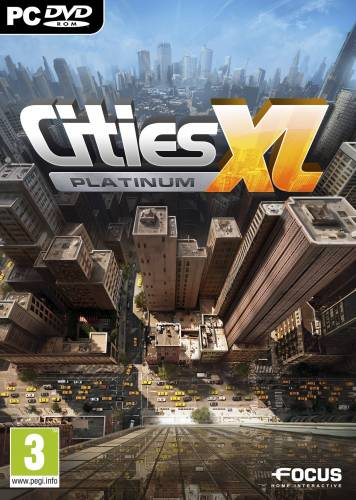 Cities XL Platinum (ROW) - STEAM GIFT - Region Free