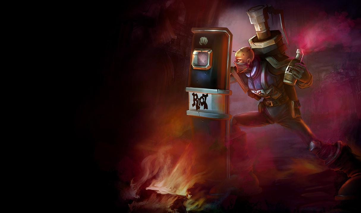 RIOT SINGED SKIN  + Champ EU EAST NORDIC - Сразу