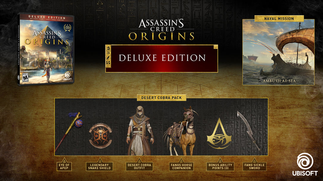 Assassin´s Creed Origins - Deluxe Edition (Steam Gift)