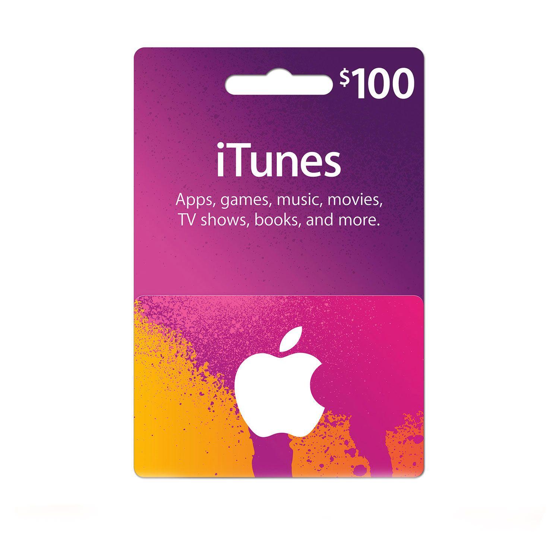 Itunes Gift Card 100 Usa