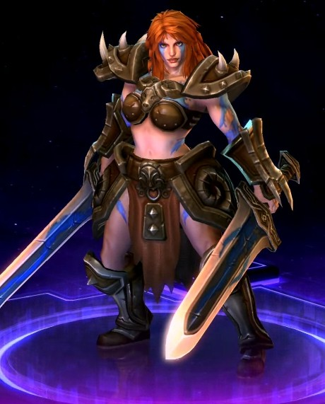 HERO —  Sonya (HEROES OF THE STORM)