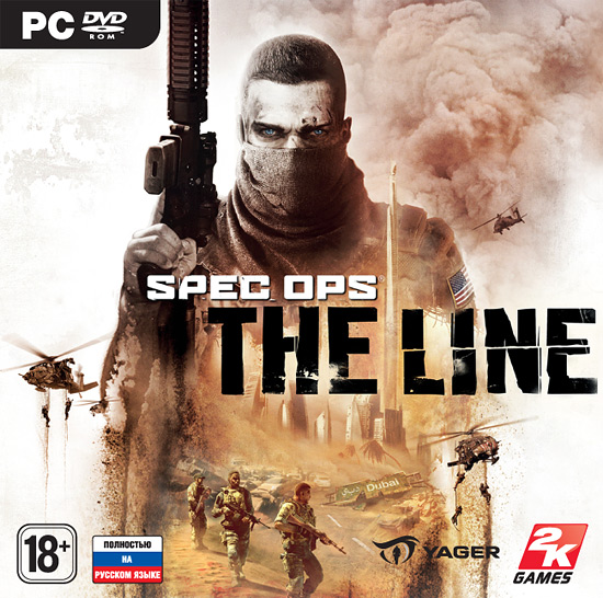 Spec Ops: the line (Steam key) CIS