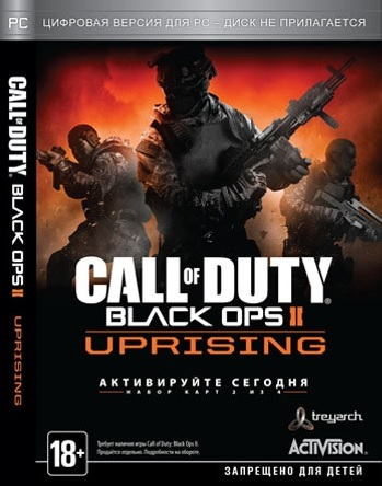 Call of Duty Black Ops II Uprising DLC2 (Steam key)CIS