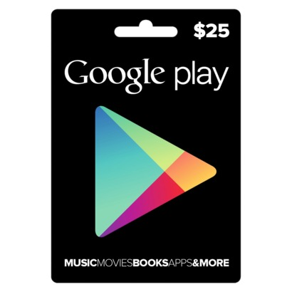 Google Play Gift Card 25 USD US (ФОТО КАРТЫ)