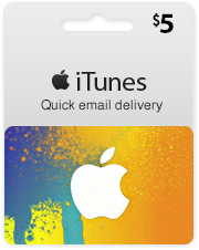 5$ iTunes Gift Card USA