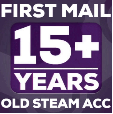 ✅OLD STEAM ACCOUNT 14-15year of service 2003+CS