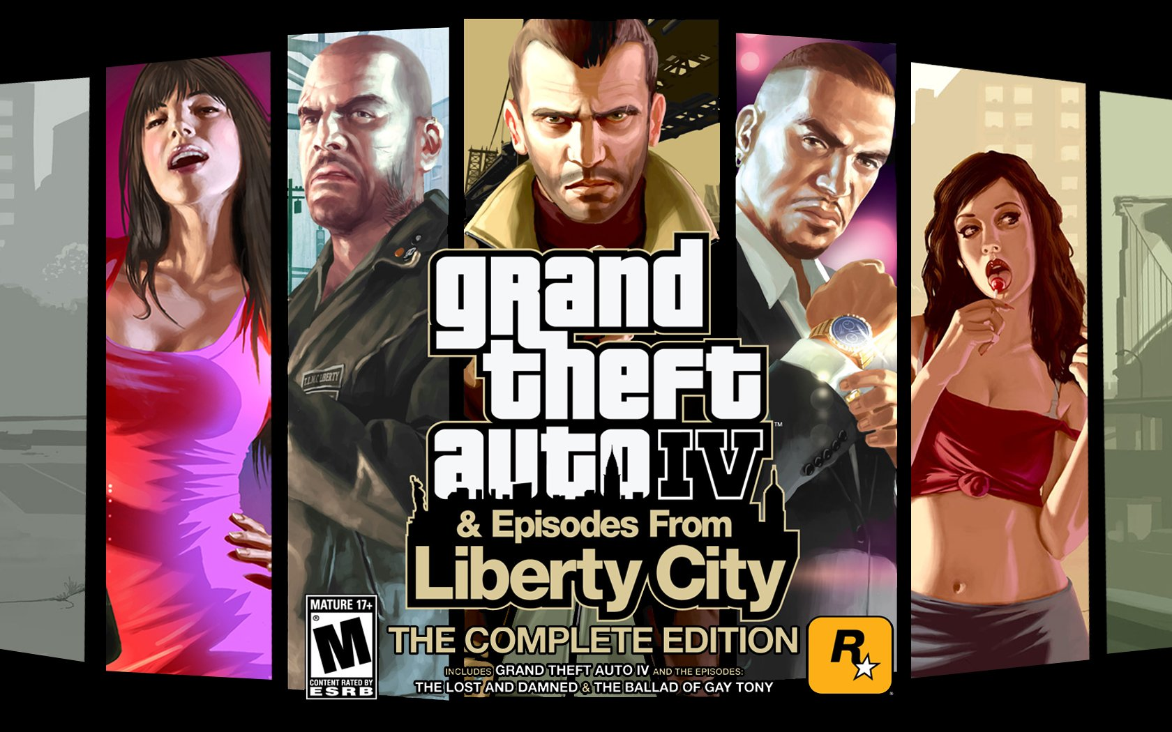 Grand Theft Auto 4 - Complete Edition [STEAM-KEY]