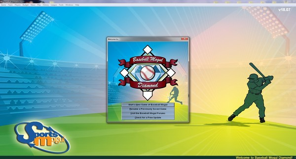 Baseball Mogul Diamond (Steam key/Region free)