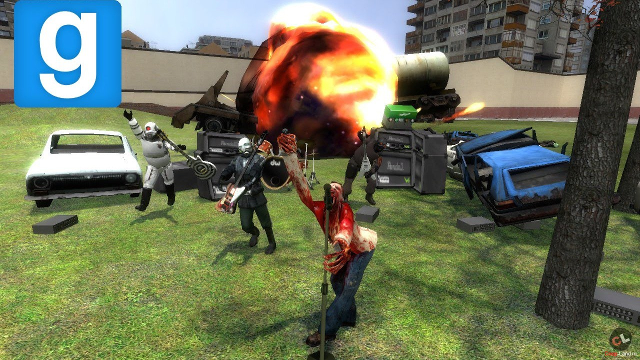Garrys Mod Steam Gift (RU+CIS)