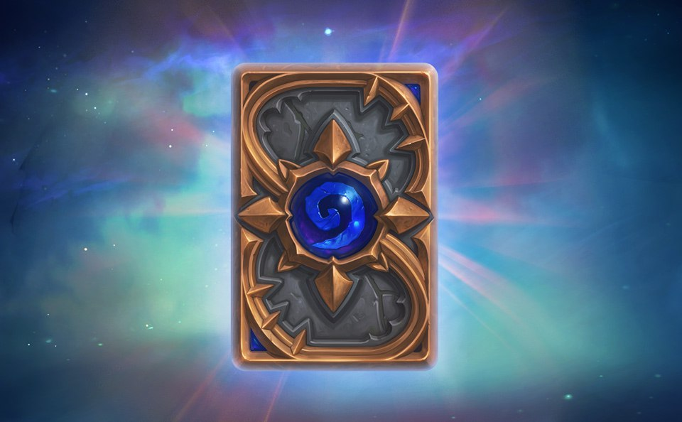 4 Hearthstone Expert Pack (20 cards) card back Galaxy