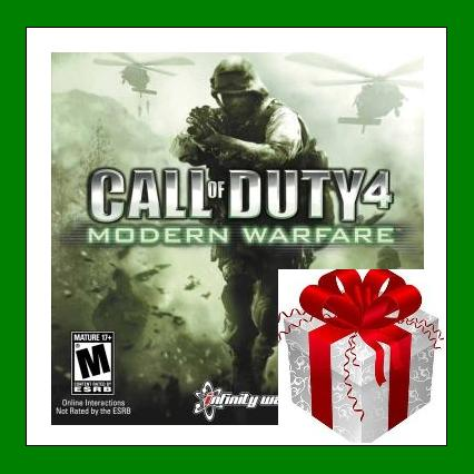 CALL OF DUTY 4 Modern Warfare - Steam RU-CIS + ПОДАPOK