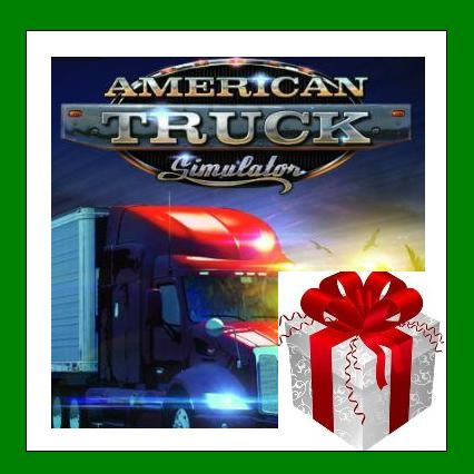 American Truck Simulator - Steam Region Free + ПОДАРОК
