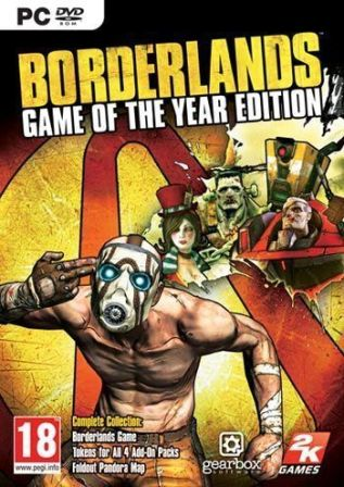 Borderlands Game of the Year - Steam RU-CIS