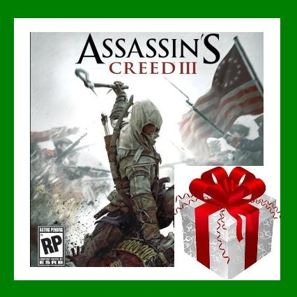 Assassins Creed 3 III - Steam Gift RU-CIS-UA + ПОДАРОК