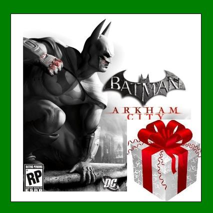 Batman Arkham City GOTY - Steam Region Free + ПОДАРОК