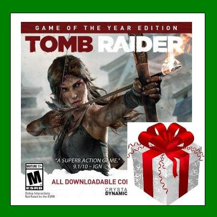 Tomb Raider GOTY Edition - Steam Gift RU-CIS + ПОДАРОК