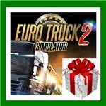 Euro Truck Simulator 2 - Steam Gift RU-CIS-UA + ПОДАРОК