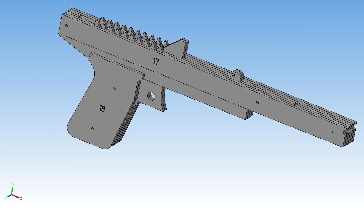 Инструкция по сборке резинкострела десятизарядного