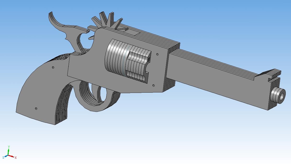 Инструкция по сборке резинкострела